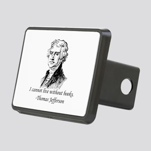 """Must Have Books"" Rectangular Hitch Cover"