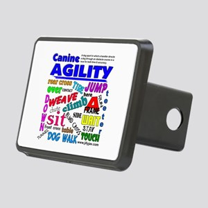 Canine Agility Rectangular Hitch Cover