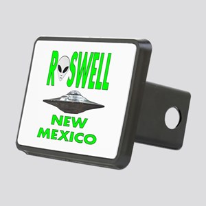Roswell New Mexico Rectangular Hitch Cover