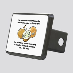 Funny Onions Saying Rectangular Hitch Cover