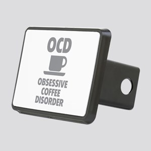 OCD Obsessive Coffee Disorder Rectangular Hitch Co