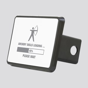 Archery Skills Loading Rectangular Hitch Cover