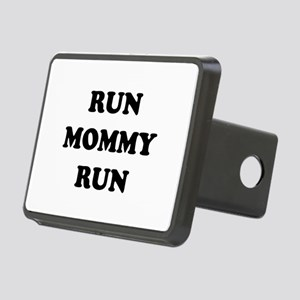 Run Mommy Run Rectangular Hitch Cover