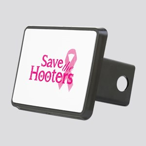 Save the hooters Rectangular Hitch Cover