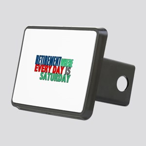 Retirement Rectangular Hitch Cover