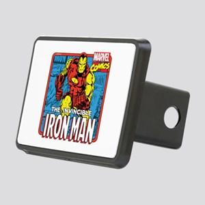 The Invincible Iron Man Rectangular Hitch Cover