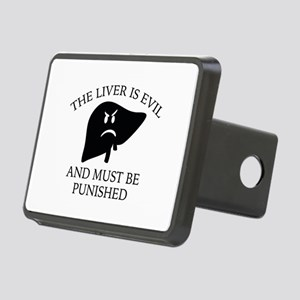 The Liver Is Evil Rectangular Hitch Cover
