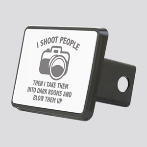 I Shoot People Rectangular Hitch Cover