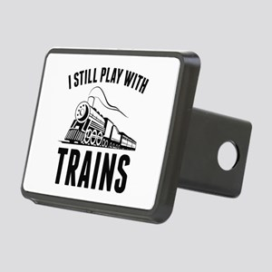 I Still Play With Trains Rectangular Hitch Cover