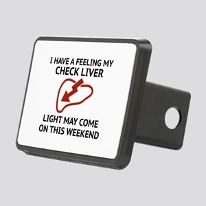 Check Liver Light Rectangular Hitch Cover