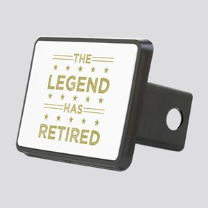The Legend Has Retired Rectangular Hitch Cover