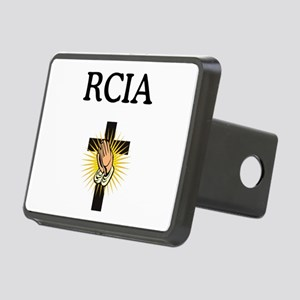 RCIA Cross Rectangular Hitch Cover