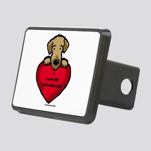 LabradoodleLove Rectangular Hitch Cover