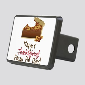 Pecan Pie Day Rectangular Hitch Cover