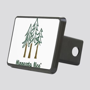 Minnesota Nice trees Rectangular Hitch Cover