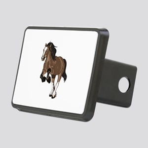 REARING DRAFT HORSE Hitch Cover