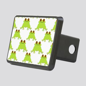 Cute Frog Pattern Rectangular Hitch Cover