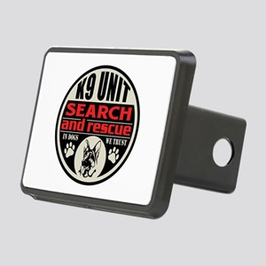 K9 Unit Search and Rescue Rectangular Hitch Cover