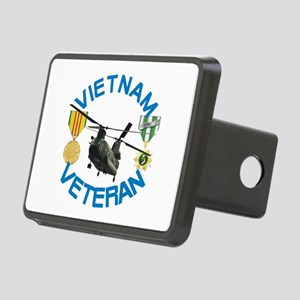Chinook Vietnam Veteran Rectangular Hitch Cover