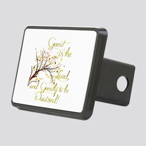 Great is the Lord Rectangular Hitch Cover