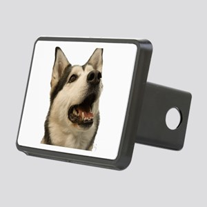 The Alaskan Husky Rectangular Hitch Cover