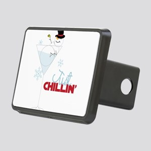 Just Chillin Rectangular Hitch Cover