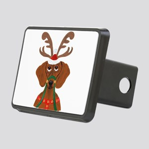 Dachshund Reindeer Hitch Cover