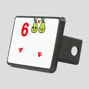 6th Anniversary Great Pear Rectangular Hitch Cover