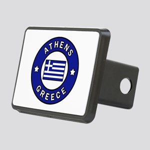 Athens Greece Rectangular Hitch Cover