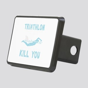 Triathlon Multisport Race Rectangular Hitch Cover
