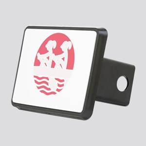 Rowing Girlz Rectangular Hitch Cover