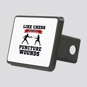 Like Chess But Without Pun Rectangular Hitch Cover