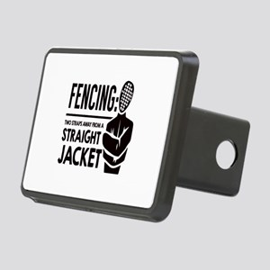 Fencing: Two Straps Away F Rectangular Hitch Cover