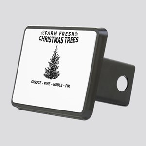 Farm Fresh Christmas Trees Rectangular Hitch Cover
