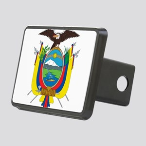 Ecuador Coat Of Arms Rectangular Hitch Cover