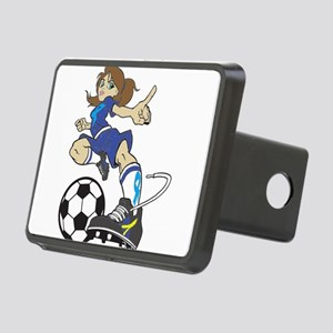SOCCER GIRL Hitch Cover