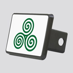 Celtic spiral Rectangular Hitch Cover