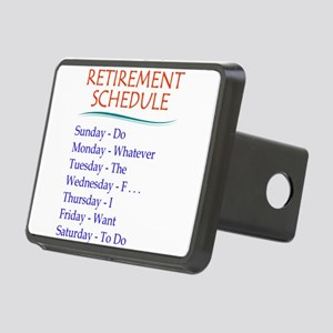 Retirement Schedule Hitch Cover