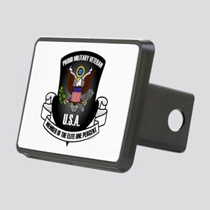 Elite One Percent Rectangular Hitch Cover