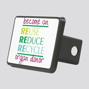 Organ Donor Rectangular Hitch Cover