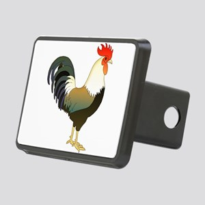 Rocking Rooster Rectangular Hitch Cover