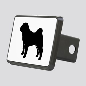 Shar-Pei Rectangular Hitch Cover