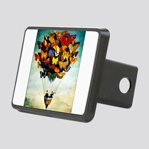 Butterfly Abstract Balloon Rectangular Hitch Cover