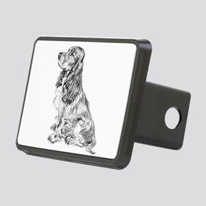 Springer Spaniel Rectangular Hitch Cover