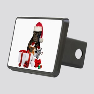 Christmas Cane Corso Hitch Cover
