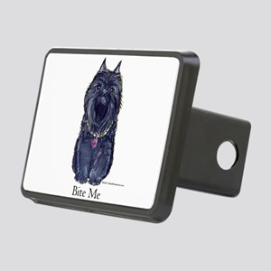 bite me 10x7 Rectangular Hitch Cover