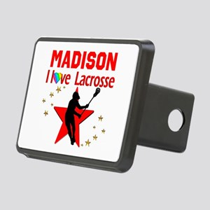 LACROSSE PLAYER Rectangular Hitch Cover