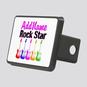 ROCK STAR Rectangular Hitch Cover