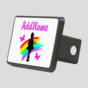 DANCING GIRL Rectangular Hitch Cover