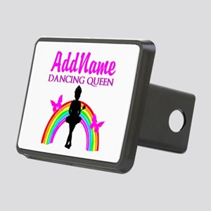DANCING QUEEN Rectangular Hitch Cover